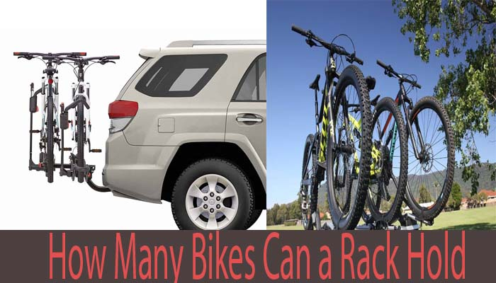 How many bikes can a rack hold